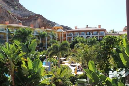 Piscina 1 del Hotel Cordial Mogán Playa, noticia Gobierno canario abre la mano a hoteles 4 estrellas eficientes y sostenibles