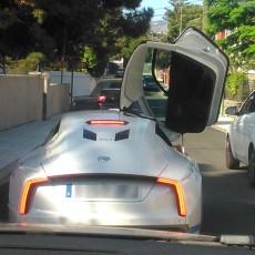 Movilidad Eléctrica en Canarias VII: ¡Nos topamos con el VW XL1!