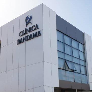 Vista nuevo edificio Clínica Bandama