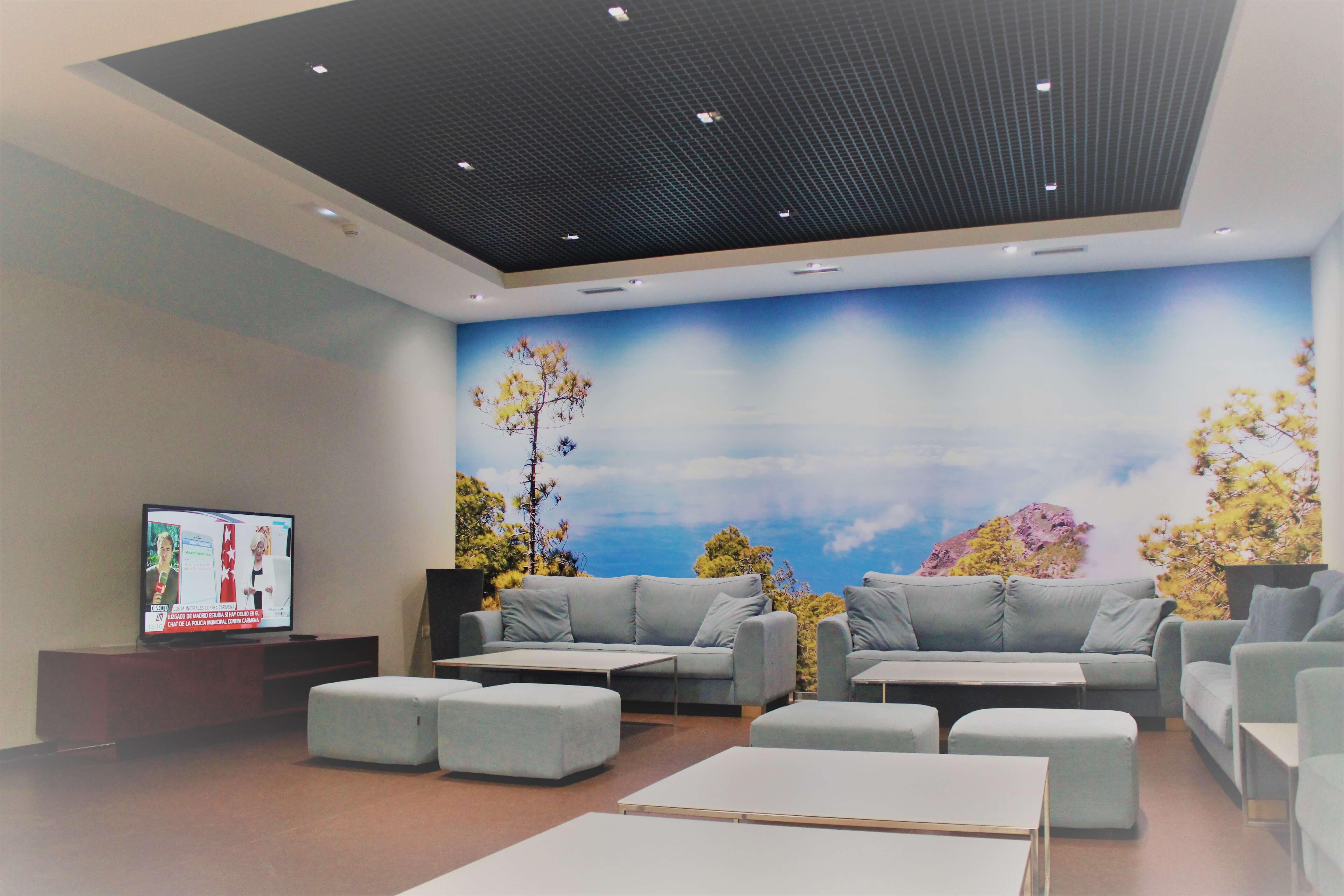 Sala de estar y descanso en la zona de cortesía (fase II)