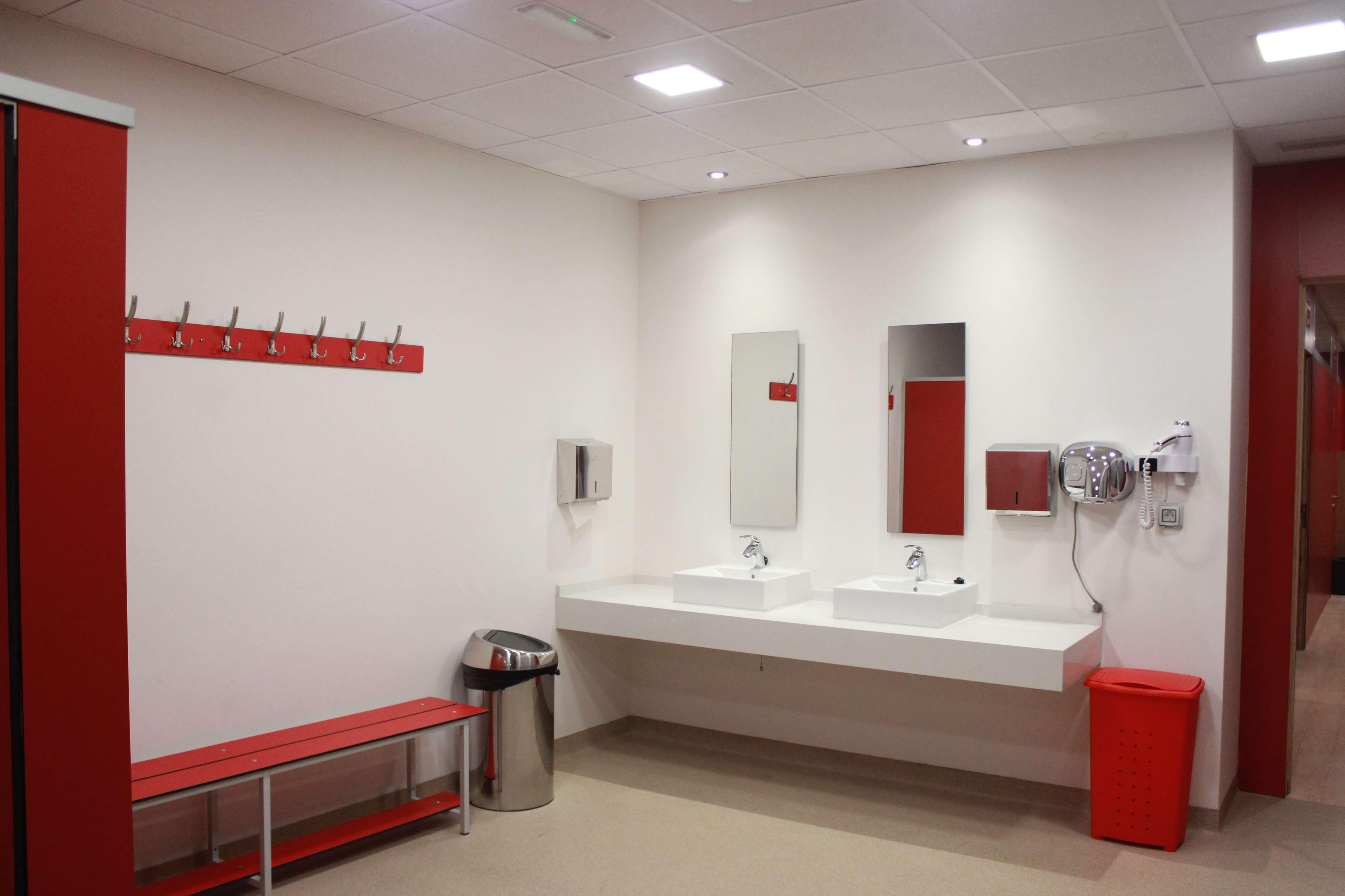 Lavabos para zona de cortesía y sala de congresos (fase II)