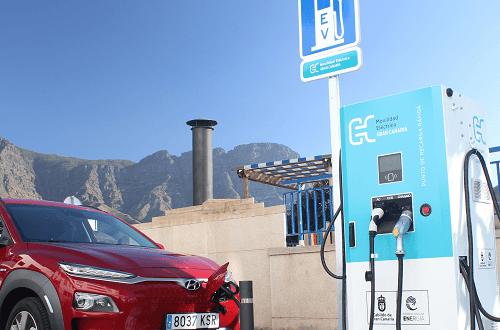 Movilidad eléctrica en Canarias