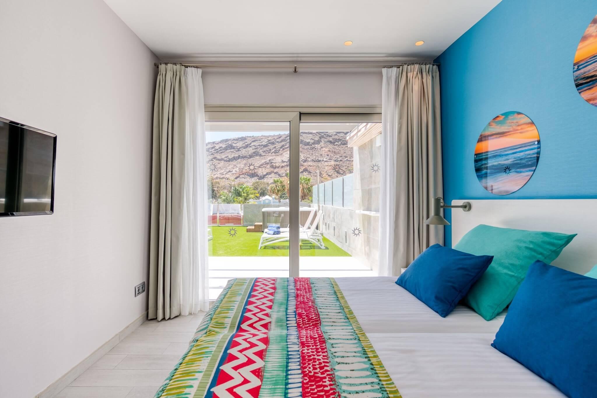 Vista de dormitorio principal de viviendas en planta primera